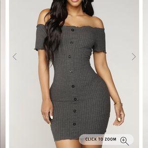 Grey Dress | New | Medium